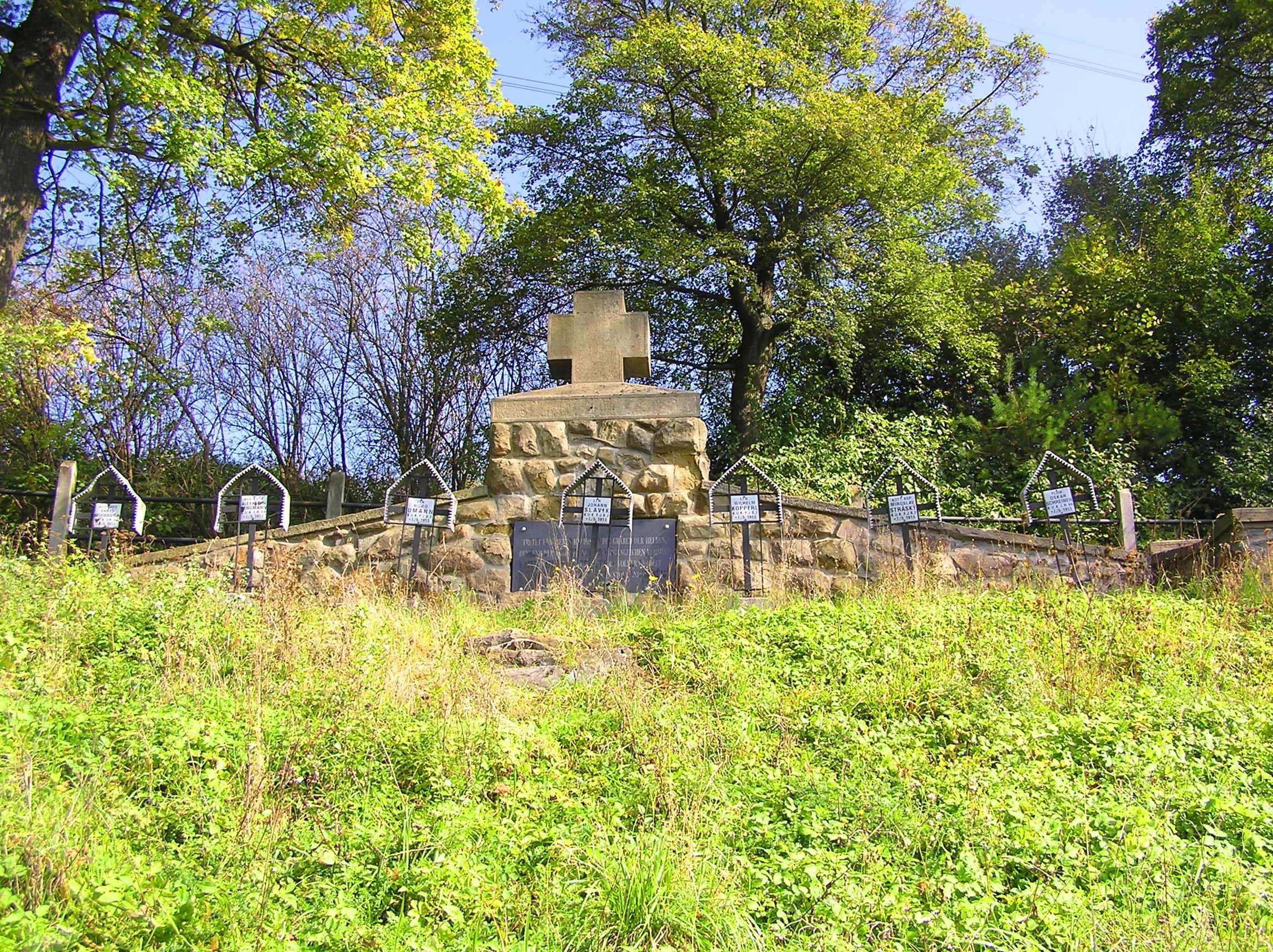 Bukowa – cmentarz zIwojny światowej nr218