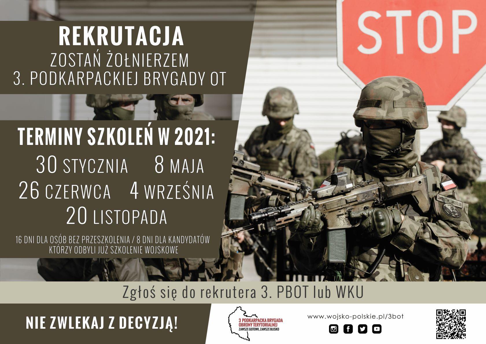 Rusza rekrutacja doWojsk Obrony Terytorialnej