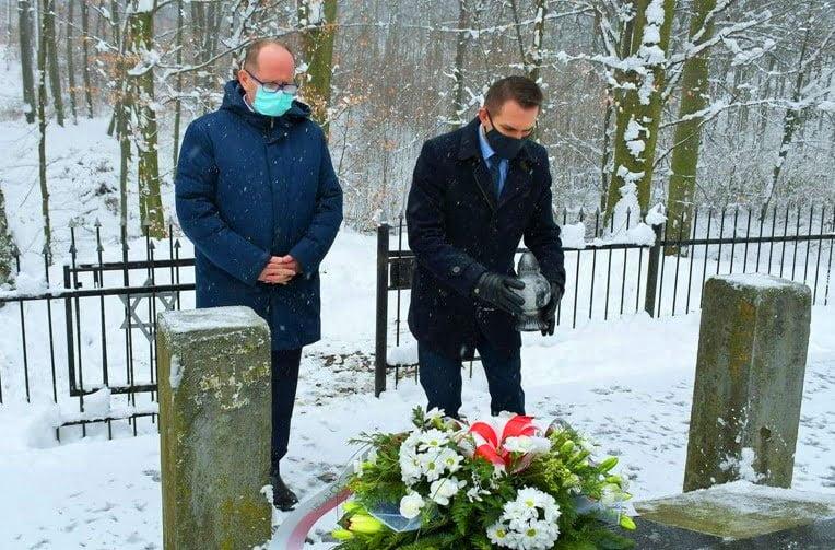 Upamiętnili Dzień Pamięci oOfiarach Holokaustu