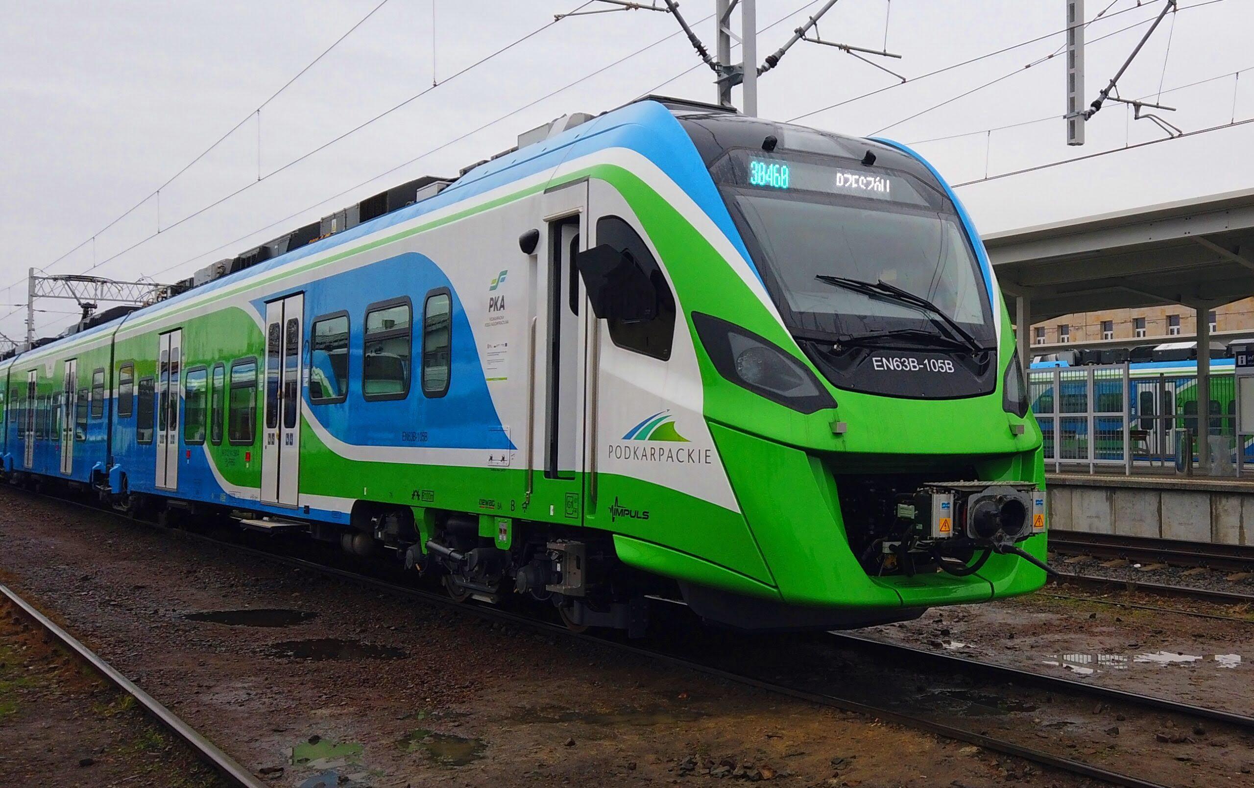 Ruszyły pierwsze kursy pociągów wramach Podkarpackiej Kolei Aglomeracyjnej